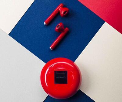 Huawei FreeBuds 3 kırmızıya büründü