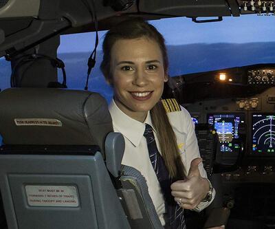 İşte THY'nin en genç kaptan pilotu