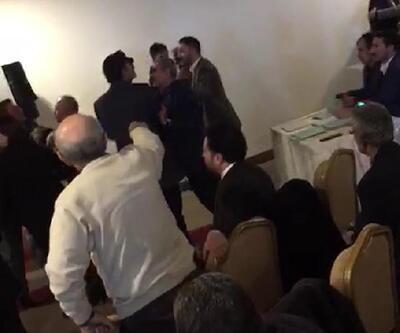 Erzurum'da CHP kongresinde arbede
