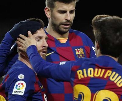 Barcelona'da Messi ve Pique kavga etti!