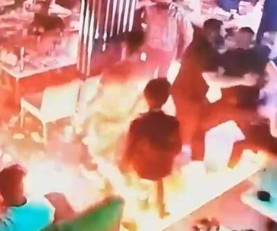 Beyoğlu'nda bir barda sopalı kavga