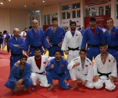 Milli judoculardan Paris Grand Slam için Tiflis'te ortak çalışma