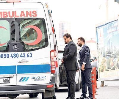 VIP ambulans: Hastaya 400 patrona 700