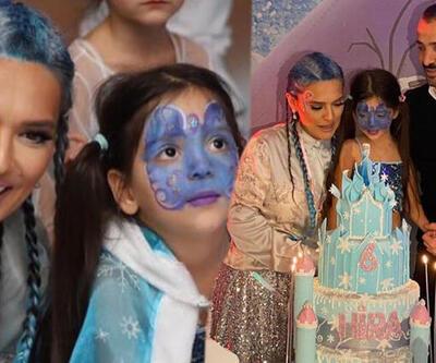 Demet Akalın'dan görkemli kutlama... Hira 6 yaşında!