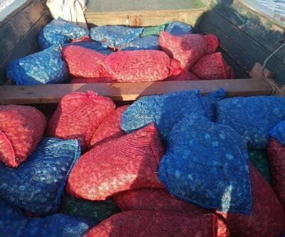 Tekneyle midye kaçakçılığına 90 bin lira ceza