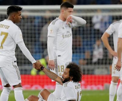 Real Madrid sahasında 4 gol yedi