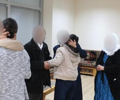 İkna yöntemiyle teslim olan 2 PKK'lı kadın, aileleriyle buluştu