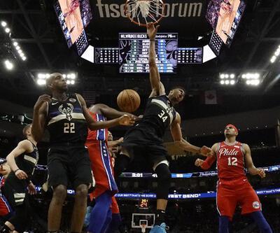 NBAdeki Türk derbisinde kazanan Ersanlı Milwaukee Bucks