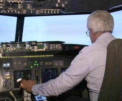 Sabiha Gökçen'deki kaza anı uçuş simülatör merkezinde canlandırıldı