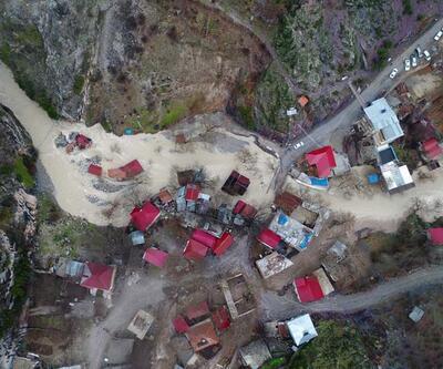 Kayseri'deki selin ardından fotoğraflar