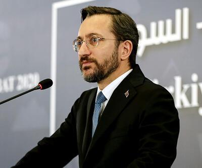 Fahrettin Altun: Suriye'de ok yaydan çıkmıştır