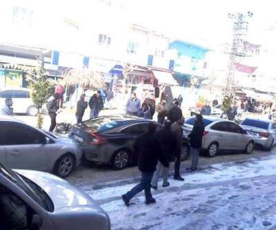 Mardin'de 8 aracın karıştığı zincirleme kaza