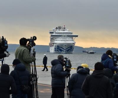 Karantinaya alınan gemiden kötü haber: Vaka sayısı 70'e yükseldi