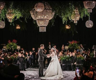 Merve Özbey ve Kenan Koçak evlendi! Düğüne ünlü akını