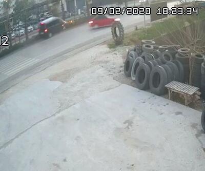 AK Partili Özhaseki, Türel ve Yılmaz'ın yaralandığı kaza kamerada