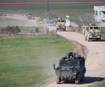 Suriye sınırına 300 araçlık askeri sevkiyat