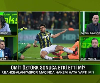 Fenerbahçe-Alanyaspor maçında hakem hata yaptı mı? Mustafa Pektemek'in pozisyonu penaltı mı? Pazar Akşamı Futbol'da tartışıldı