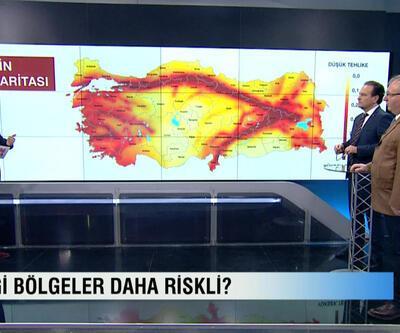Haluk Özener ve Ali Pınar, Türkiye'nin deprem haritasını Hafta Sonu'nda yorumladı ve riskli bölgeleri anlattı