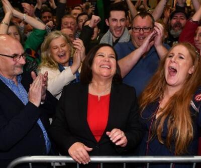 İrlanda'da seçimin galibi IRA'nın siyasi kanadı Sinn Fein