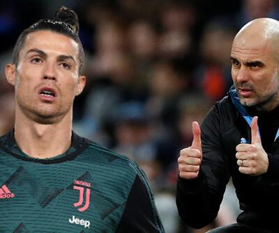 Guardiola Juventus'ta Ronaldo'yla buluşuyor