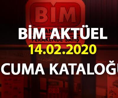 BİM aktüel 14 Şubat 2020 kataloğu... Cuma BİM indirimli ürünleri listesi