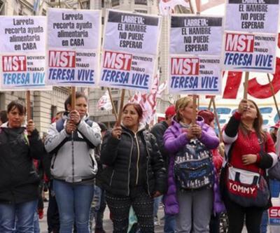 Arjantin'de IMF ve hükümet karşıtı protesto