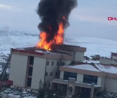 Şırnak'ta hastane yangını