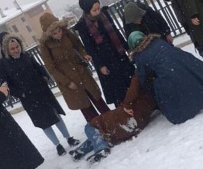 Kar ve buzlanma 30 kişiyi hastanelik etti