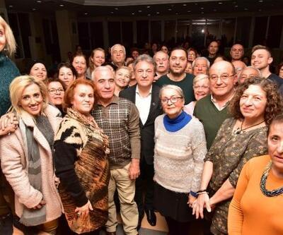 Başkan İduğ'dan Sevgililer Günü konserine hazırlanan TSM Korosu'na sürpriz ziyaret