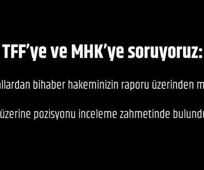 Beşiktaş'tan TFF'ye videolu çağrı