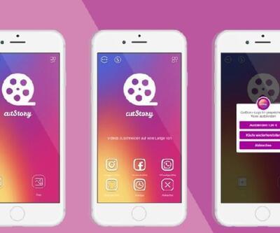 Instagram hikayeler video kırpma özelliği