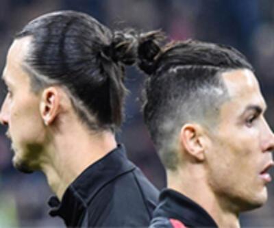 Zlatan ile Ronaldo'nun tarihi buluşması