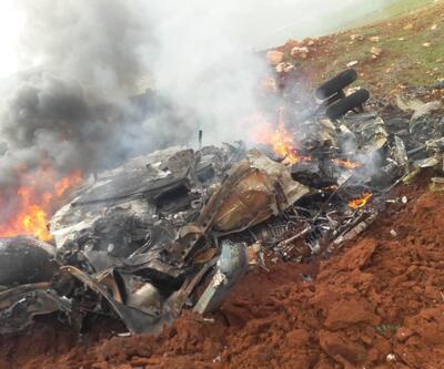 Son dakika... Suriye'de Esad rejimine ait helikopter düşürüldü