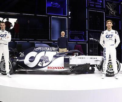 Formula 1'in yeni takımı Scuderia AlphaTauri Honda tanıtıldı