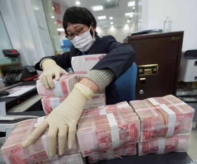 Çin'de Covid-19 ile mücadelede banknotlar dezenfekte ediliyor