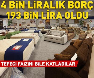 4 bin liralık borç, 193 bin lira oldu