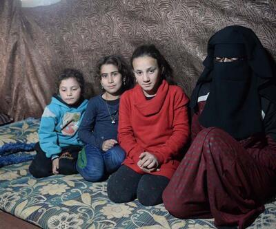 Bombalardan kaçan ailenin 7 aylık bebeği donarak öldü