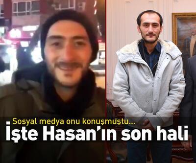 İşte Hasan'ın son hali