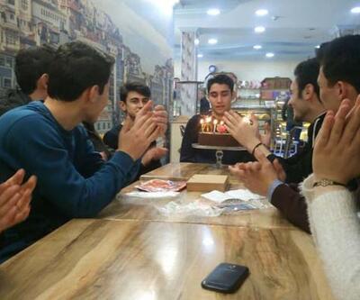 Arkadaşları Kadir Şeker'in doğum gününü kutladı