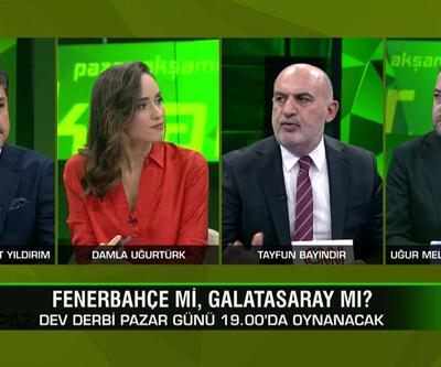 Fenerbahçe-Galatasaray derbisini kim kazanır? Ersun Yanal istifa eder mi? Futbol neden politize ediliyor? Pazar Akşamı Futbol'da konuşuldu
