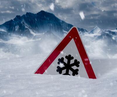 Meteoroloji uyardı: Çığ, sis, kar...