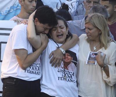 Arjantin, dövülerek öldürülen 19 yaşındaki genç için sokaklarda