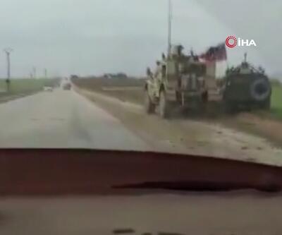 ABD ve Rusya askerleri karşı karşıya! Birbirlerinin üzerine sürdüler...