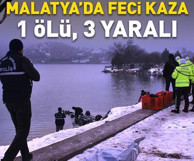 Otomobil baraj gölüne düştü: 1 ölü, 3 yaralı
