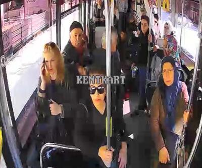 Otobüs şoförü aynı gün fenalaşan 2 yolcusunu hastaneye yetiştirdi