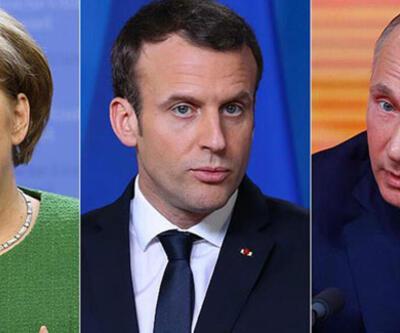 Merkel ve Macron'dan Putin'e İdlib çağrısı!