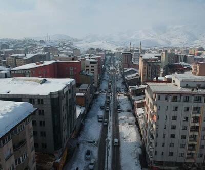 Şehir merkezinden tam 5 bin kamyon kar çıkarıldı