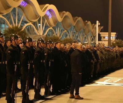 İdlib şehidi törenle memleketine gönderildi