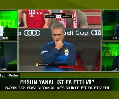 Tayfun Bayındır: Ersun Yanal istifa etmedi