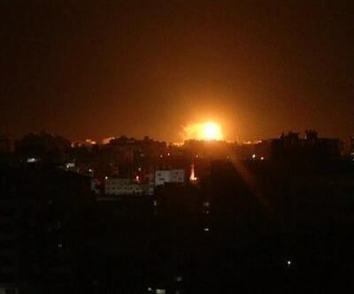 İsrail'den Gazze ve Şam'a saldırı